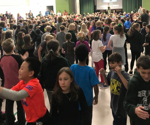 Dance a thon celebration
